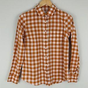 J. Crew Boy Shirt in Buffalo Check Plaid
